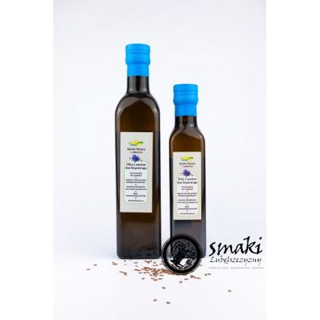 Olej z lnu brązowego 250 ml - SKARBY NATURY