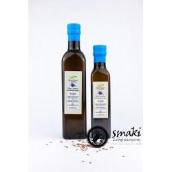 Olej z lnu brązowego 500 ml - SKARBY NATURY