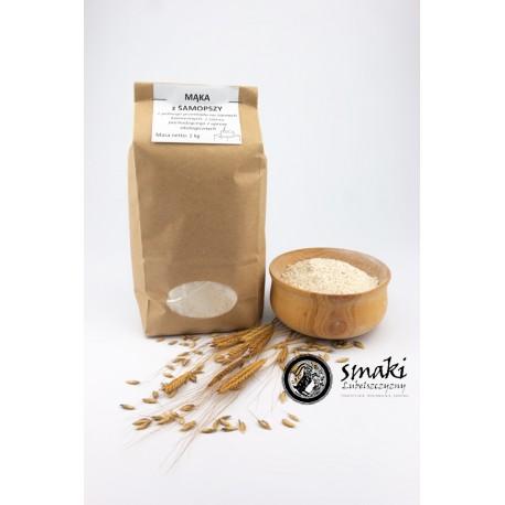 Mąka z samopszy typ 2000 - 1 kg SKARBY NATURY