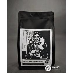 Kawa Wyrafinowany Kawiarz ziarnista, ręcznie palona