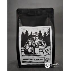 Kawa Porządny Kawiarz ziarnista, ręcznie palona