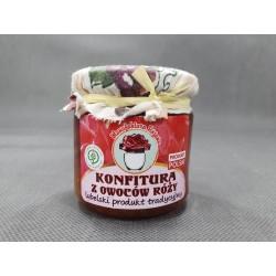 Konfitura z owoców róży 235 g - MANUFAKTURA RÓŻANA